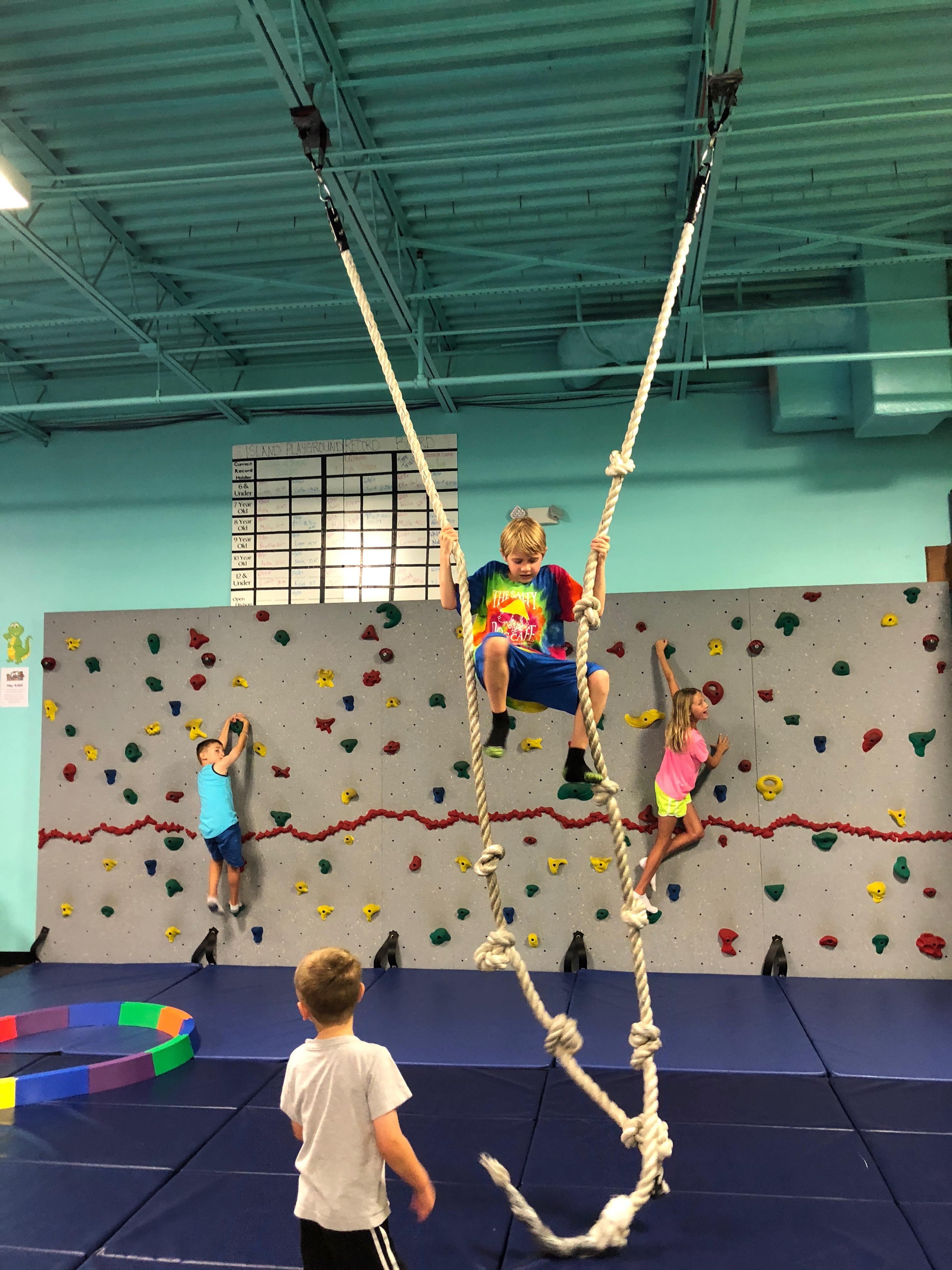 climb ropes