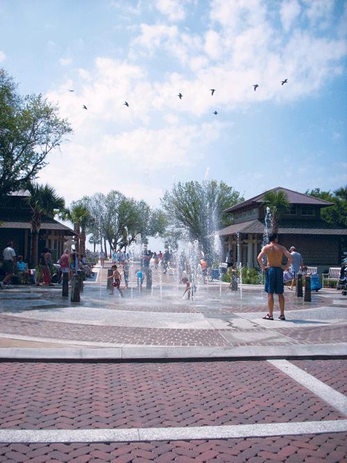 Coligny Fountain