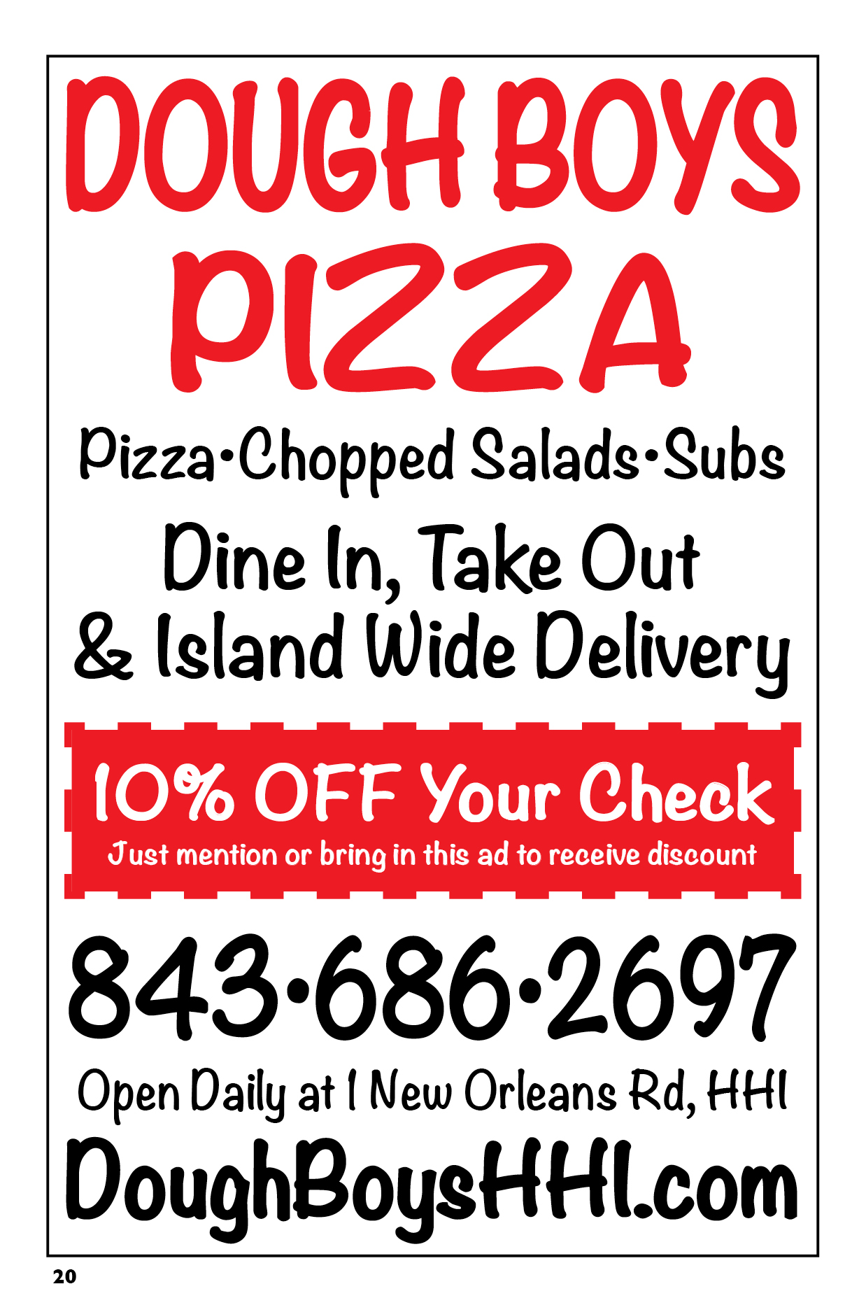 Doughboy Pizza Deals