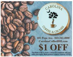 Carolina Coffee and Crumbs