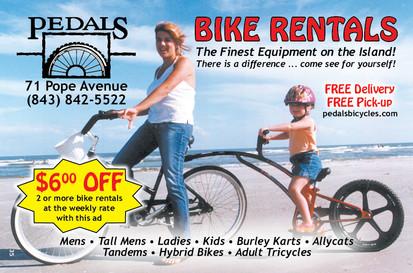 Pedals Bike Rentals