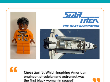 Question 3: Who was the first black woman in space?