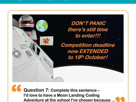 Question 7: How would a Moon Landing Coding Show benefit your school?