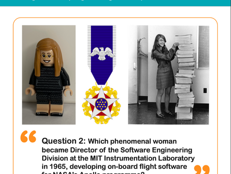 Question 2: Which Phenomenal Woman in Tech was this?