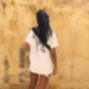 GOAT TEE LEFKO weiß backprint druck t-shir tshirt handgemacht limitiert frau schwarze haare griechenland greta bullet bag