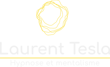 logo laurent tesla hypnose et mentalisme
