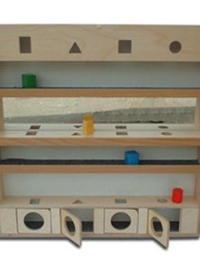 Модуль сенсорный с геометрическими телами и зеркалом