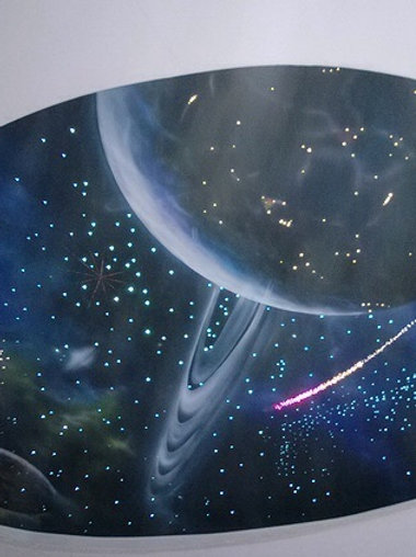 Подвесной фибероптический модуль «Галактика»