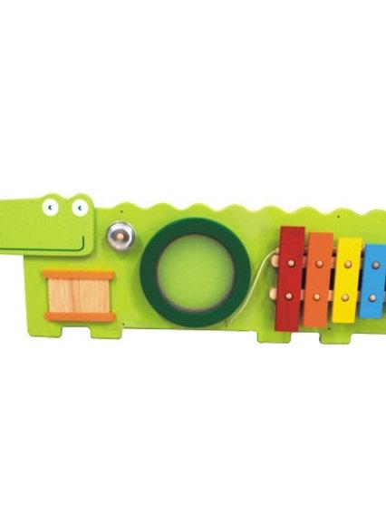 Настенная звуковая панель Крокодильчик