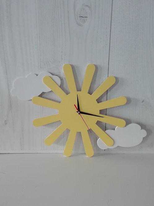 """Настенные часы """"Солнце"""""""