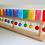 "Thumbnail: Тактильно-развивающая панель ""Разноцветное домино"""