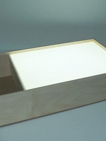 Планшет для рисования песком с белой подсветкой