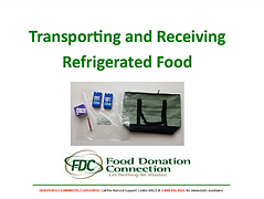 TransportingAndReceivingRefrigeratedFood