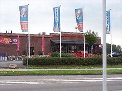 KFC donating in Heerlen, Netherlands