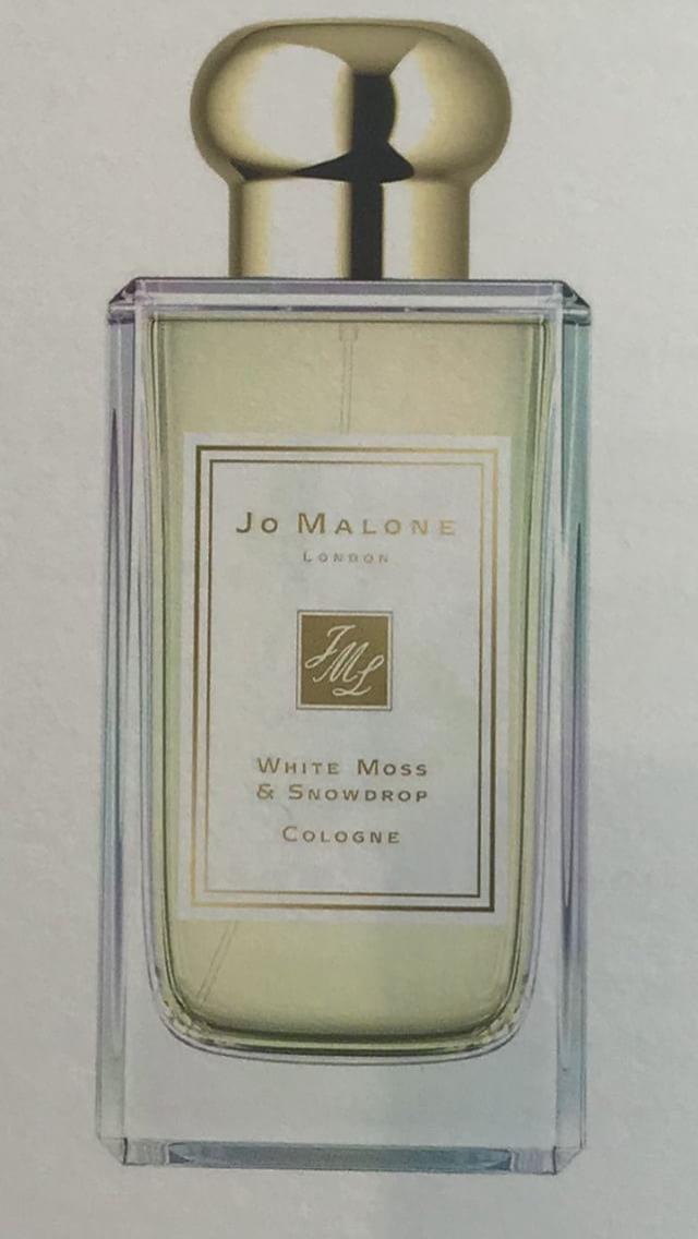 White Moss & Snowdrop Jo Malone Christmas 2018