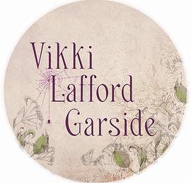 Vikki Lafford Garside logo for stickers