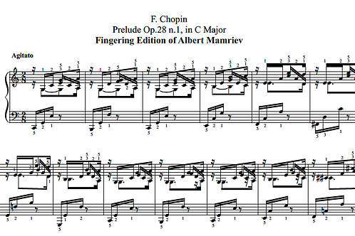 F. Chopin. Complete Preludes op.28