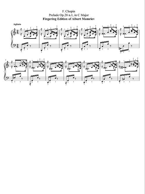 001. F. Chopin. Prelude Op.28 n.1