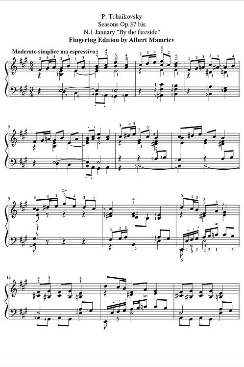 """P. I. Tchaikovsky. """"The Seasons"""" - January"""