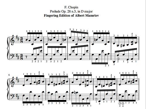 005. F. Chopin. Prelude Op.28 n.5