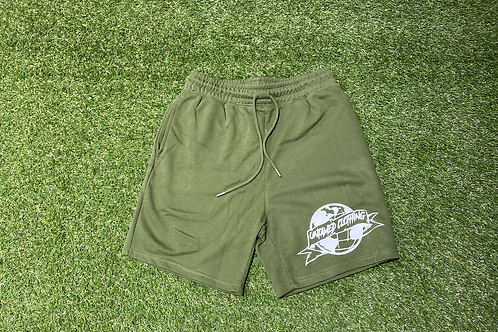 Olive French Terry Shorts