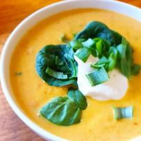 Kremet grønnsaksuppe