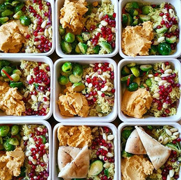 Marokkanskinspirert lunsj til våre faste