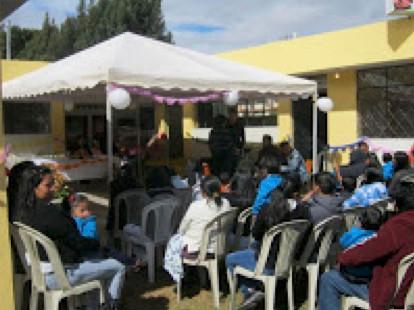 Audience In Cortyard