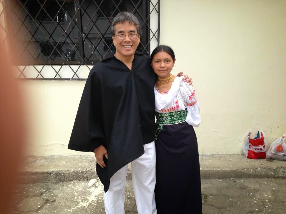 Rick Ikeda With Dena, His Goddaughter, Who Is Now 13 Years Old