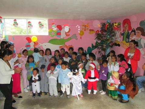 Fiesta De Navidad En Centro Infantíl De Pijal Centro