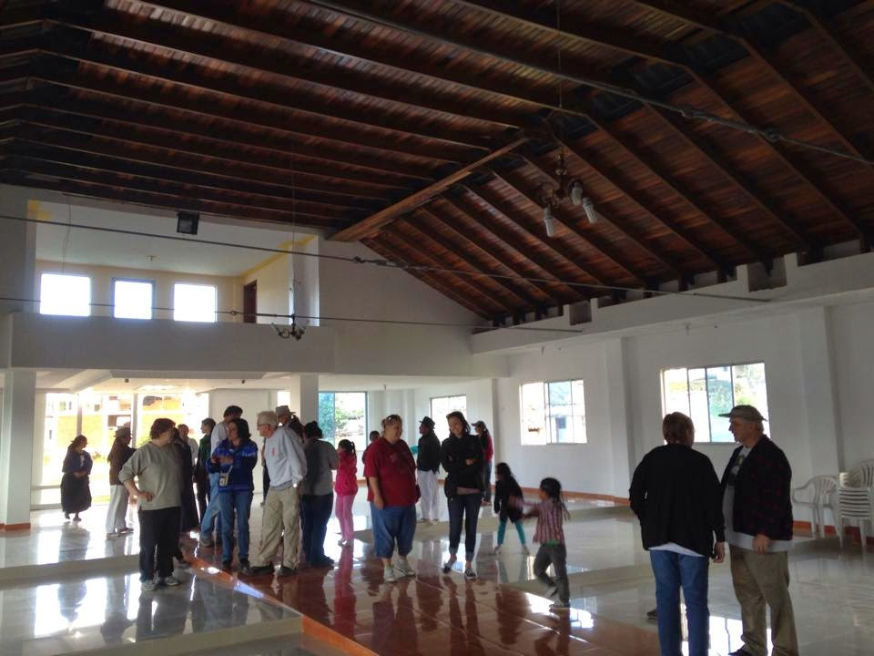 The Inside Of The Church In Cuatras Esquinas