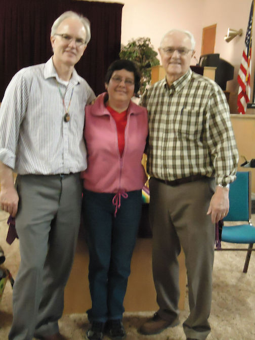Steve, Blanca, And Steve's Father