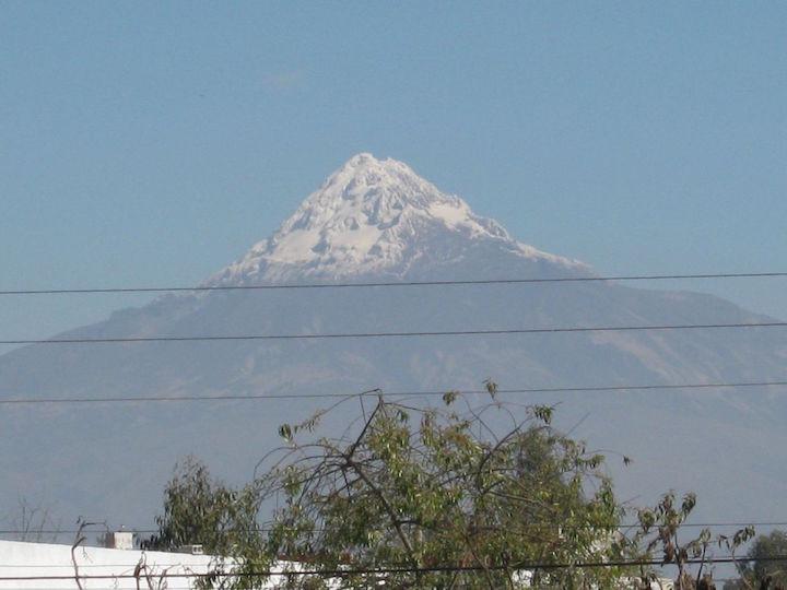 Los Illinizas Volcano