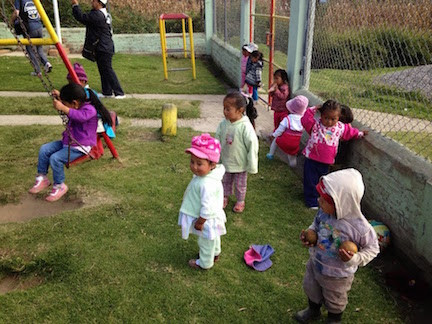 The Children Soon Went Back To doing What They Do Best - PLAYING!
