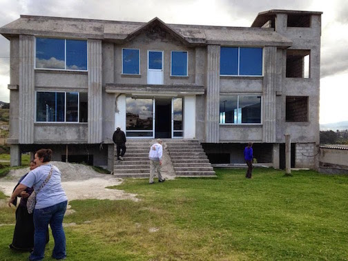 A Group From Oregon Helped Lay The Foundation Of This Church In Cuatras Esquinas