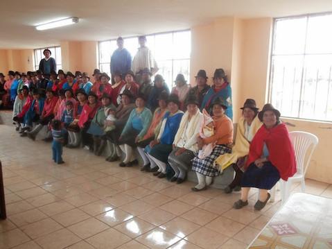 Recuperación De Fondos En La Comunidad De Cochapamba