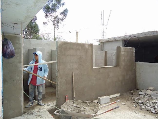 Construyiendo Baños Nuevos