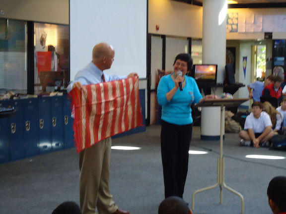 Bill Accepting Blanca's Gift