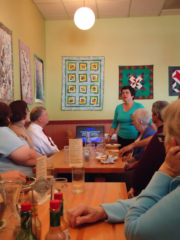 Speaking At Lunch