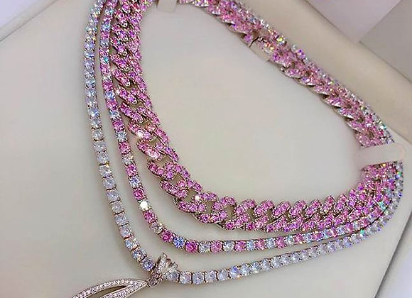 Iced Out Bling AAAA Zircon 5mm Tennis Chain Necklace