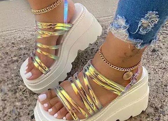 Women Platform Sandals 2021 Summer Women Fashion Wedges