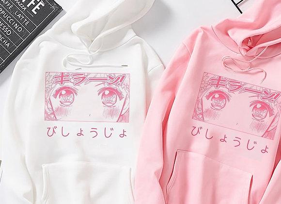 Kawaii Hoodie Lyche Anime Women Hooded Sweatshirt