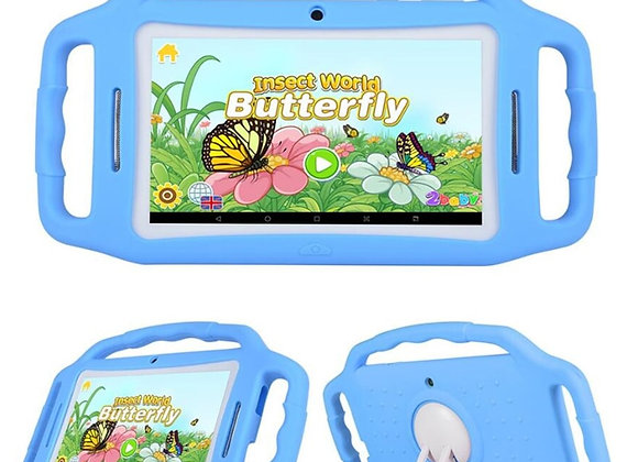New Sales Kid Learning Tablet Free Bracket Protective Silicone Case 7 Inch