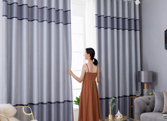 Modern Blackout Curtains for Living Room Window Curtains