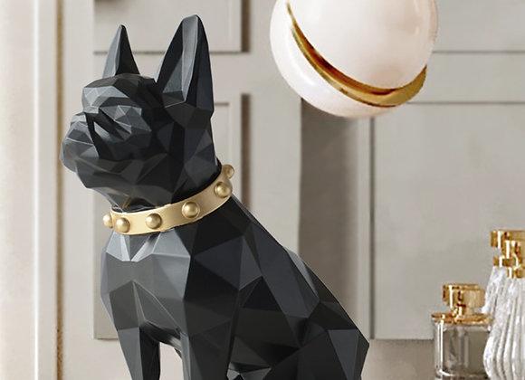 Dog Statue Home Decor Crafts  Animal Sculpture Resine Modern