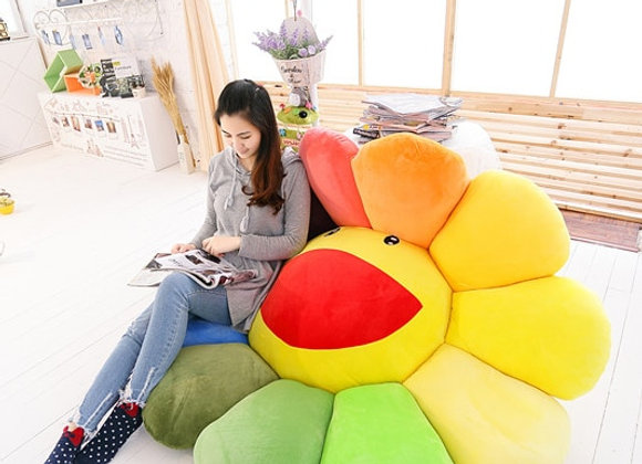 1pc Super Big Plush Sun Flowers Pillow Soft Toy Stuffed