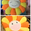 Thumbnail: 1pc Super Big Plush Sun Flowers Pillow Soft Toy Stuffed
