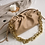Thumbnail: Gold Chain Leather Cloud Bag for Women 2020