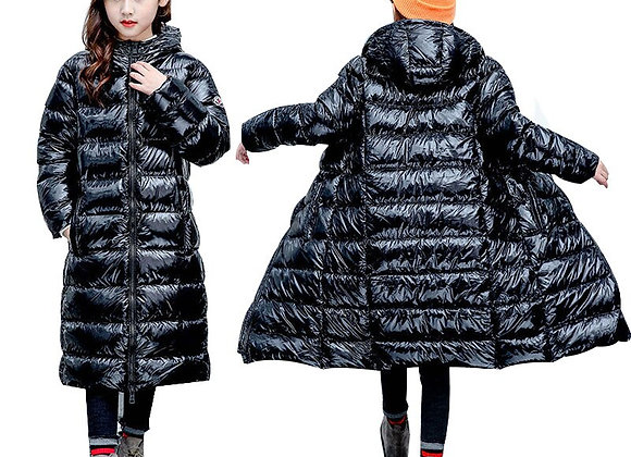 3-14 Years Winter Coats 2021 Girls Boys Down Winter Long Jacket Windproof