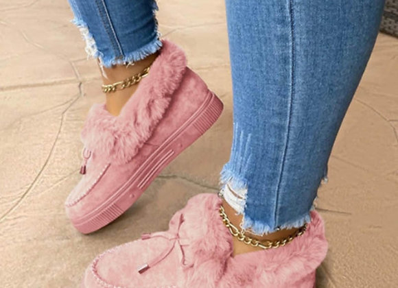 New Fashion Women Winter Cotton Shoes Plush